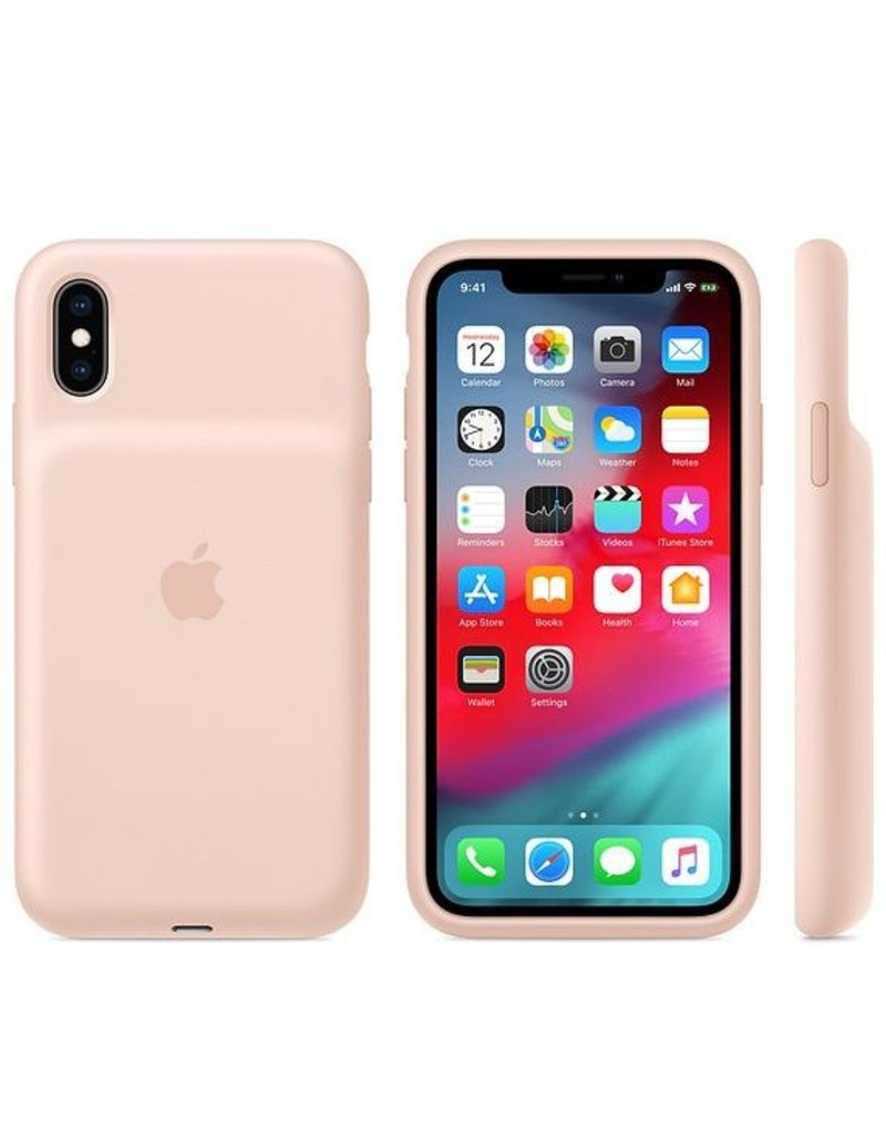 Apple Apple iPhone Xs Smart Battery Case - Pink Sand