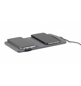 TYLT TYLT Mat Dual Wireless Charging Pad 10W - Gray