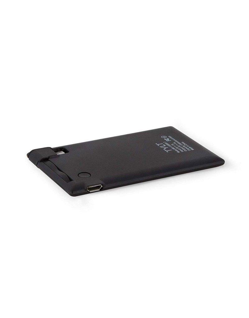 TYLT TYLT Slimboost Power Bank for Apple Lightning Devices 1,300 mAh - Black