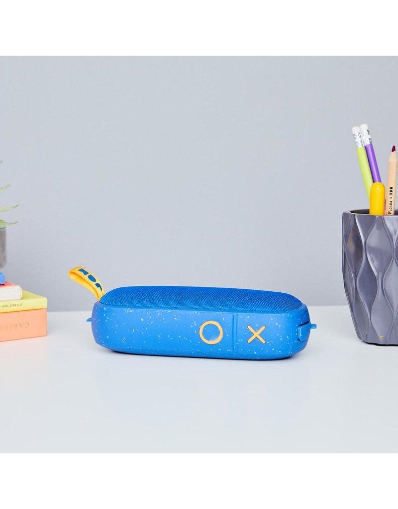 Jam Jam Audio Hang Around Bluetooth Speaker - Blue and Yellow