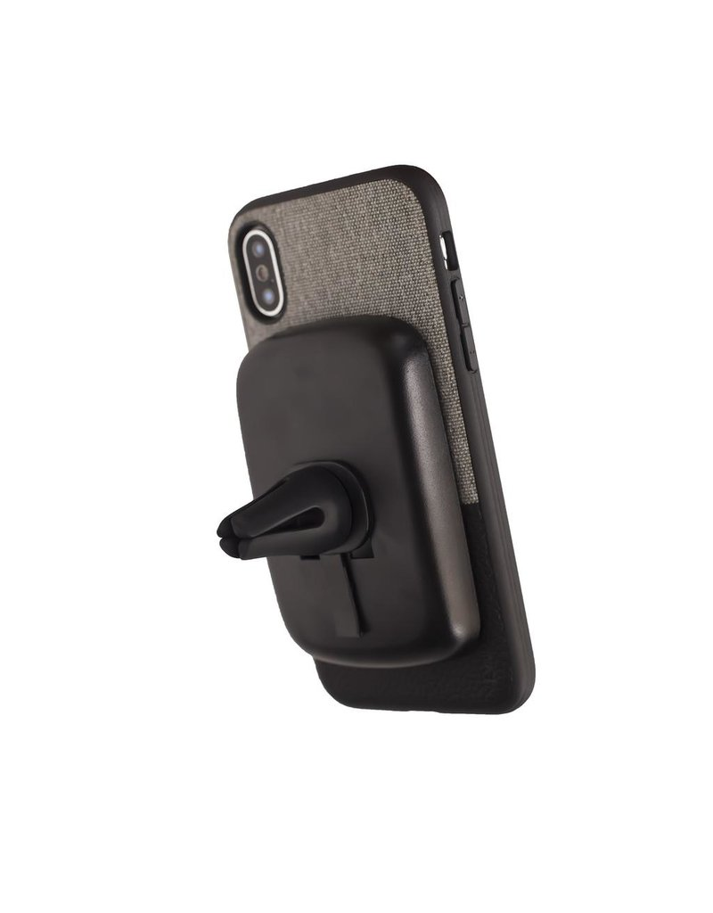 Evutec EVUTEC NORTHILL WITH AFIX FOR IPHONE X - CANVAS/BLACK & GRAY