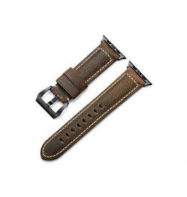 Bull Strap Bull Strap Genuine Bold Leather Strap for Apple Watch 40/38mm - Terra/Black