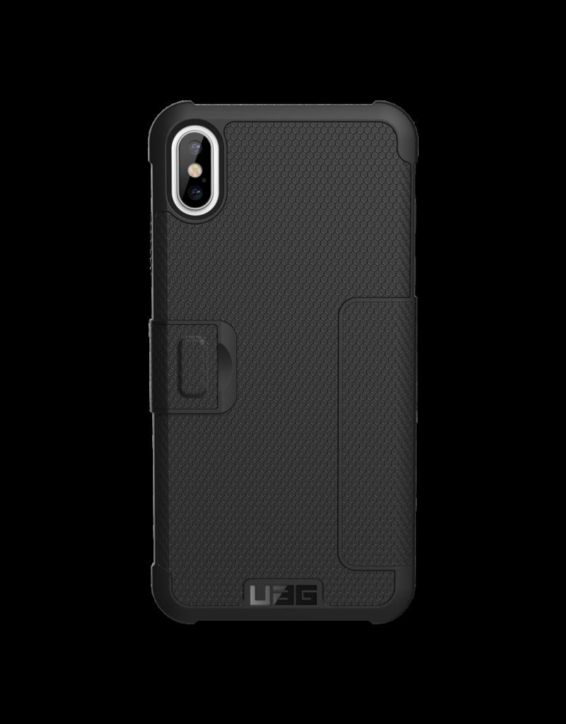 UAG UAG Metropolis Folio Wallet Case for Apple iPhone Xs Max - Black