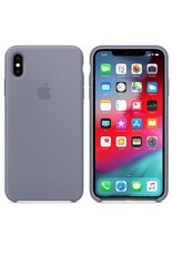 Apple Apple iPhone Xs Max Silicone Case -  Lavender Gray