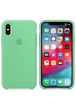 Apple Apple iPhone Xs Max Silicone Case - Spearmint