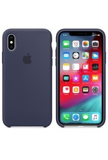 Apple Apple iPhone X Silicone Case - Midnight Blue