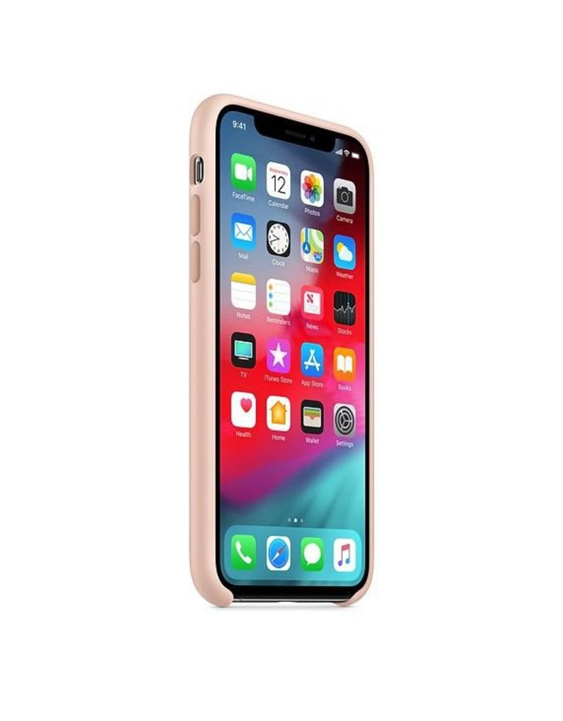 Apple Apple iPhone X Silicone Case - Pink Sand