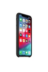 Apple Apple iPhone X Leather Case - Black