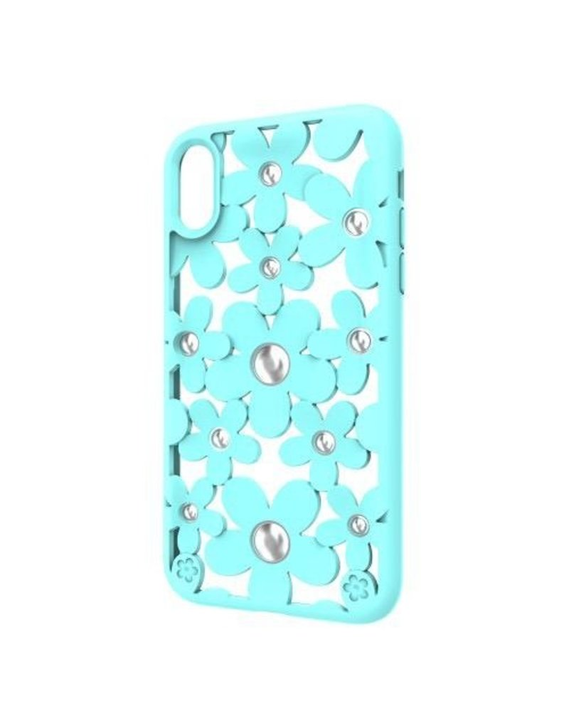 SwitchEasy SwitchEasy Fleur Beautify Case for iPhone XR -  Mint