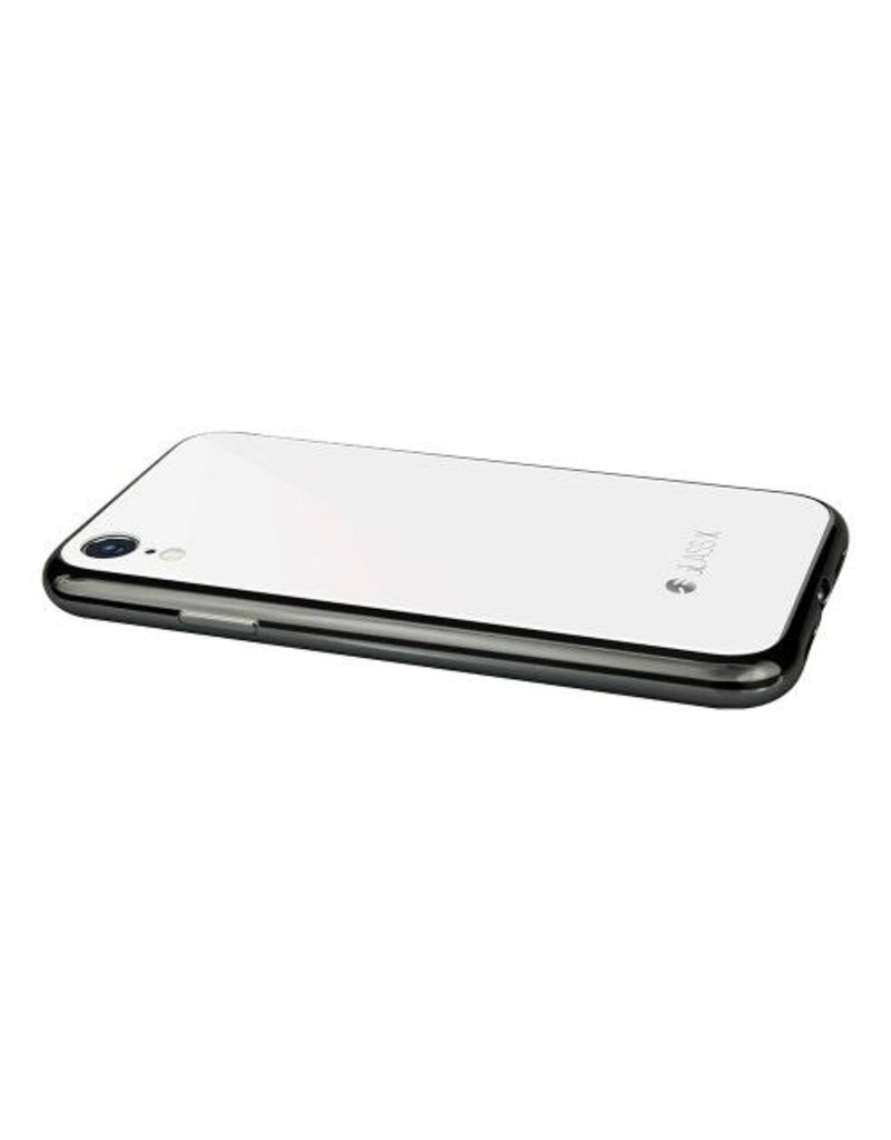 SwitchEasy SwitchEasy Glass Case for iPhone XR - White
