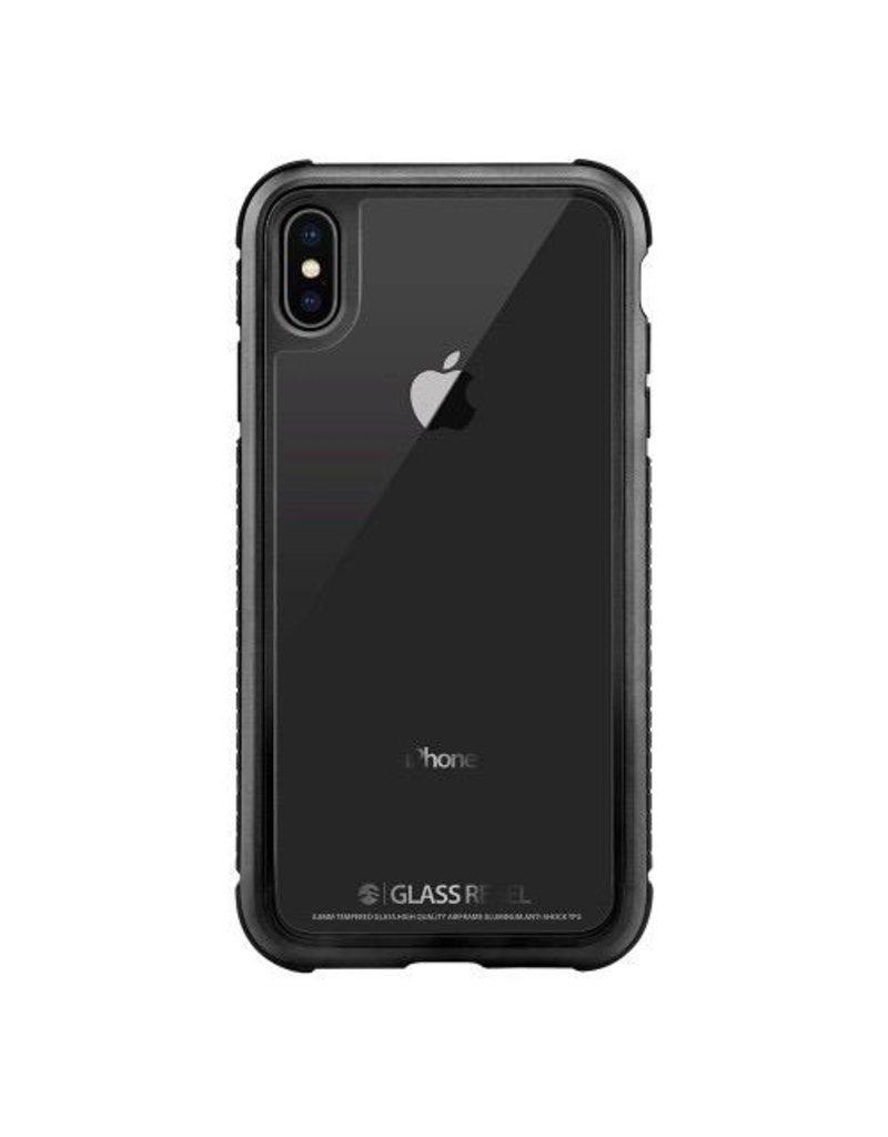 SwitchEasy SwitchEasy Glass Rebel Case for iPhone X/Xs - Metal Black