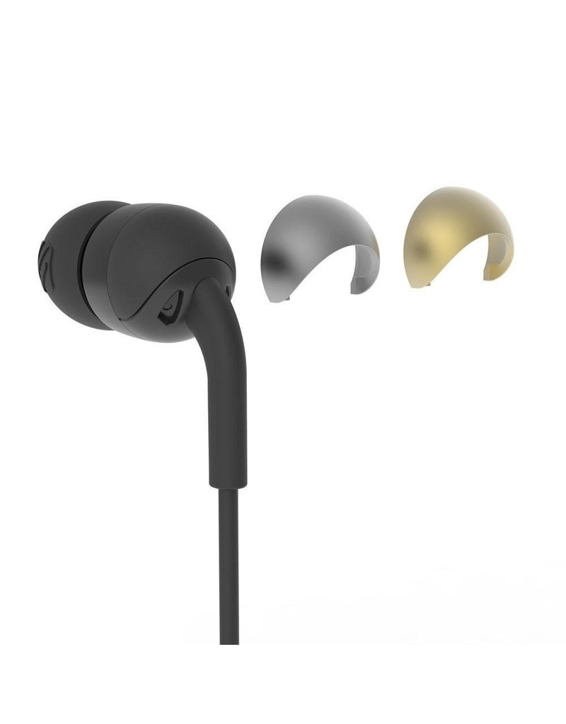 Scosche Scosche In Ear Wired Headphones for Apple Lightning Devices - Black