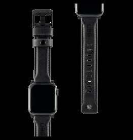 UAG Urban Armor Gear (UAG) - Leather Watchband for Apple Watch 42mm / 44mm - Black