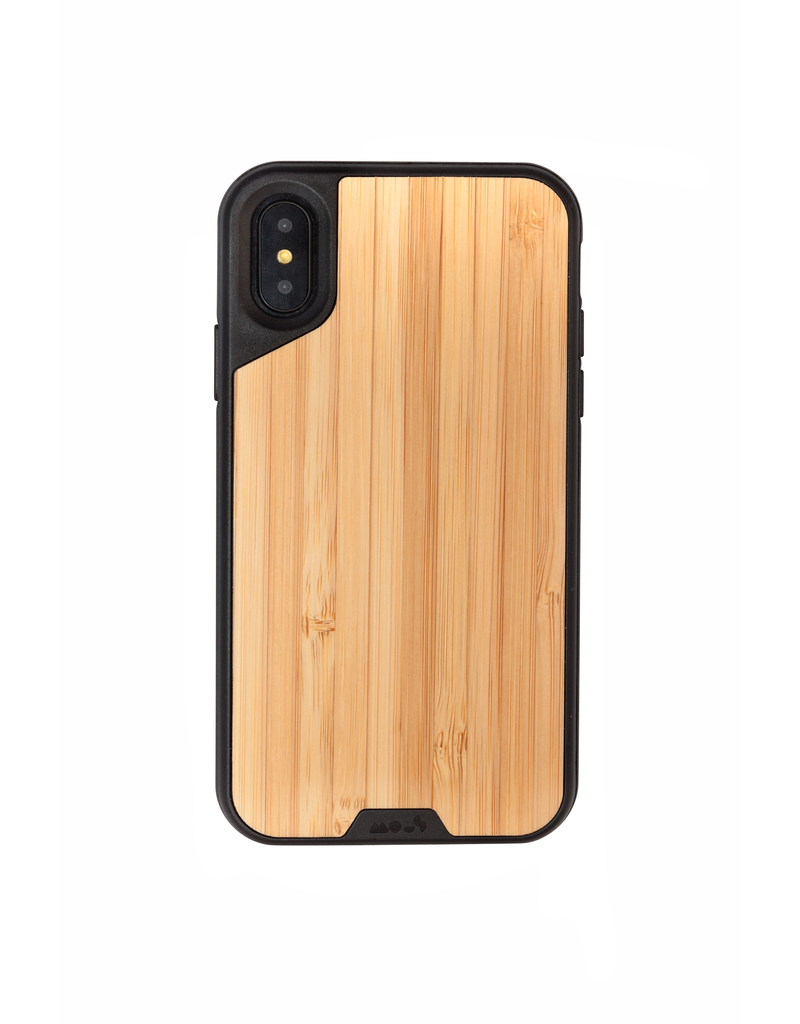 MOUS Mous Limiteless 2.0 Real Woods Case for iPhone X/Xs - Bamboo