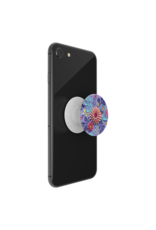 PopSockets PopSockets PopGrips Swappable Abstract Device Stand and Grip - Craft Flowers