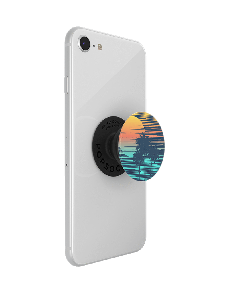 PopSockets PopSockets PopGrips Swappable Abstract Device Stand and Grip - Tropical Punch