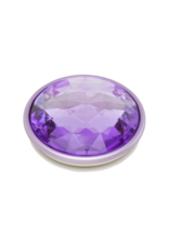PopSockets PopSockets PopGrips Swappable Abstract Device Stand and Grip - Disco Crystal Orchid