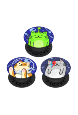 PopSockets PopSockets PopMinis Device Stand and Grip Three Pack - Cosmo Cats