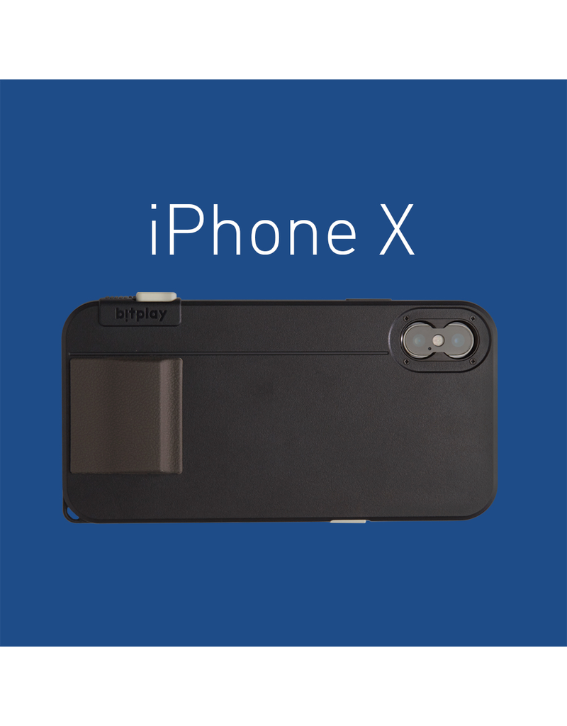 Bitplay Bitplay Snap! X Series Case for iPhone X - Noir Black