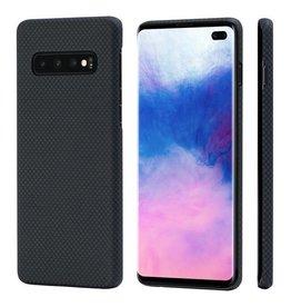 Pitaka Pitaka Aramid MagCase for Samsung Galaxy S10+ - Black/Grey Plain