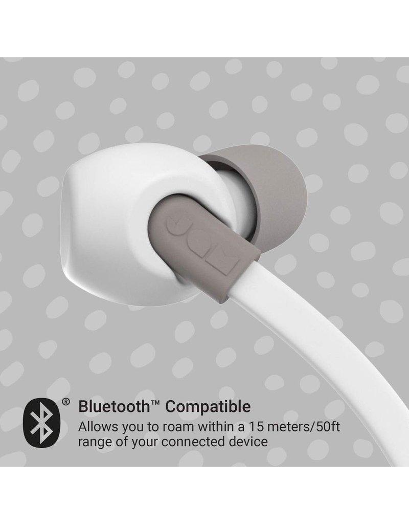 Jam Jam HMDX Audio Tune In Sweat Resistant In Ear Headphones - Gray and White