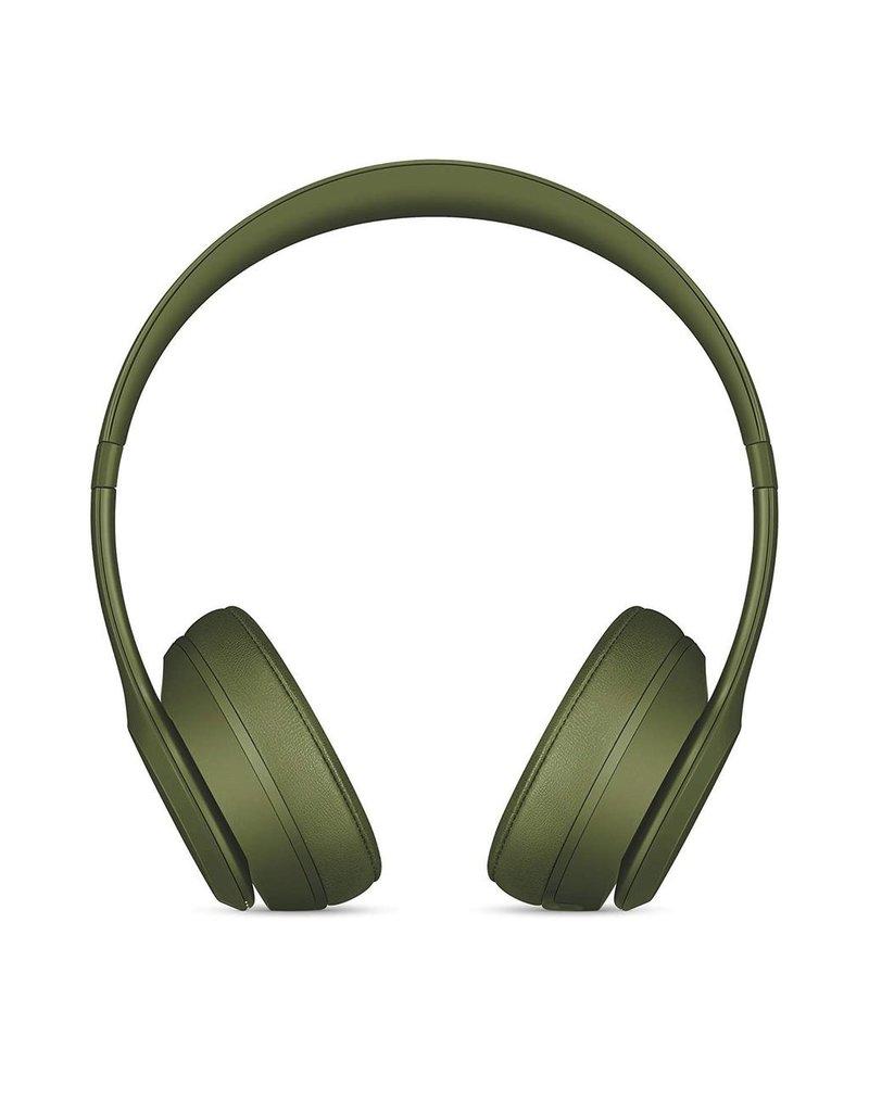 Powerbeats Beats Solo3 Wireless On-Ear Headphones Neighbourhood Collection - Turf Green