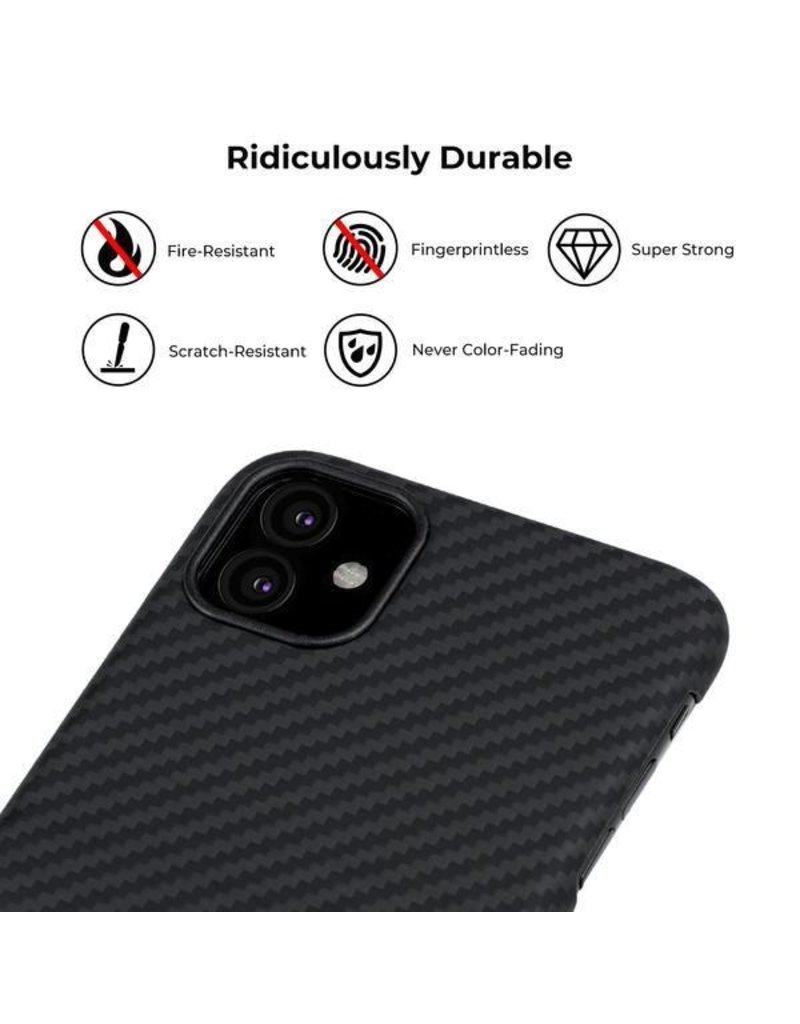 Pitaka Pitaka Aramid MagCase for iPhone 11 - Black/Grey Twill