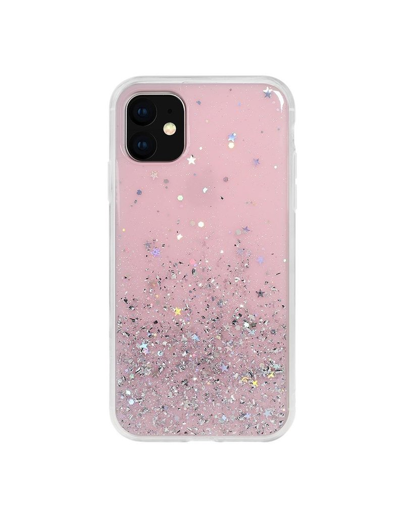 SwitchEasy SwitchEasy Starfield Case for iPhone 11 - Transparent Rose