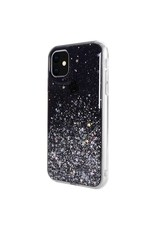 SwitchEasy SwitchEasy Starfield Case for iPhone 11 - Transparent Black