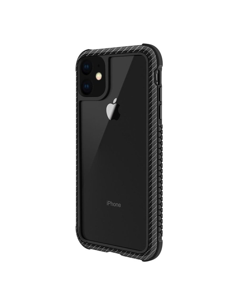 SwitchEasy SwitchEasy Glass Rebel Case for iPhone 11 - Carbon Black