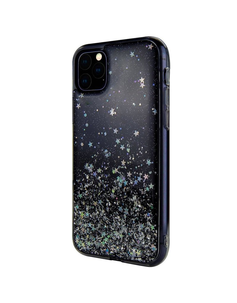 SwitchEasy SwitchEasy Starfield Case for iPhone 11 Pro Max - Transparent Black