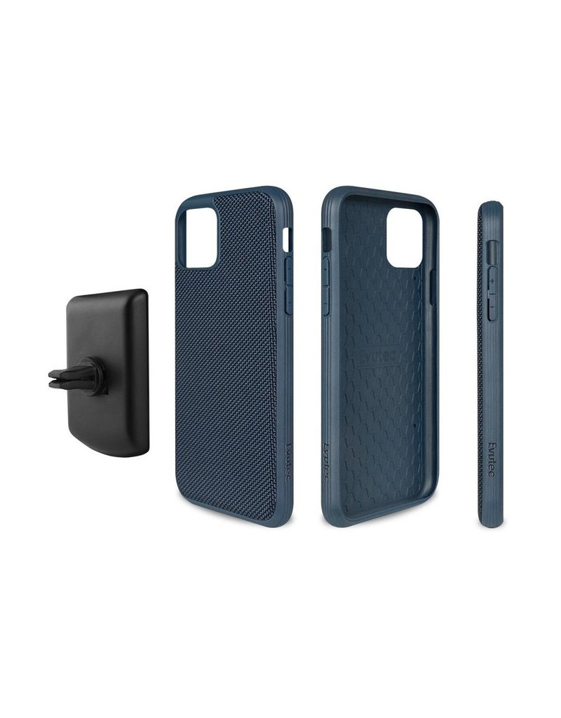 Evutec Evutec Ballistic Nylon Aergo Series Case With Afix for iPhone 11 - Blue