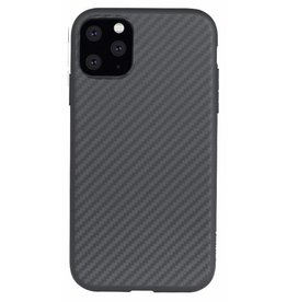 Evutec Evutec Aer Karbon Series With Afix for iPhone 11 - Black