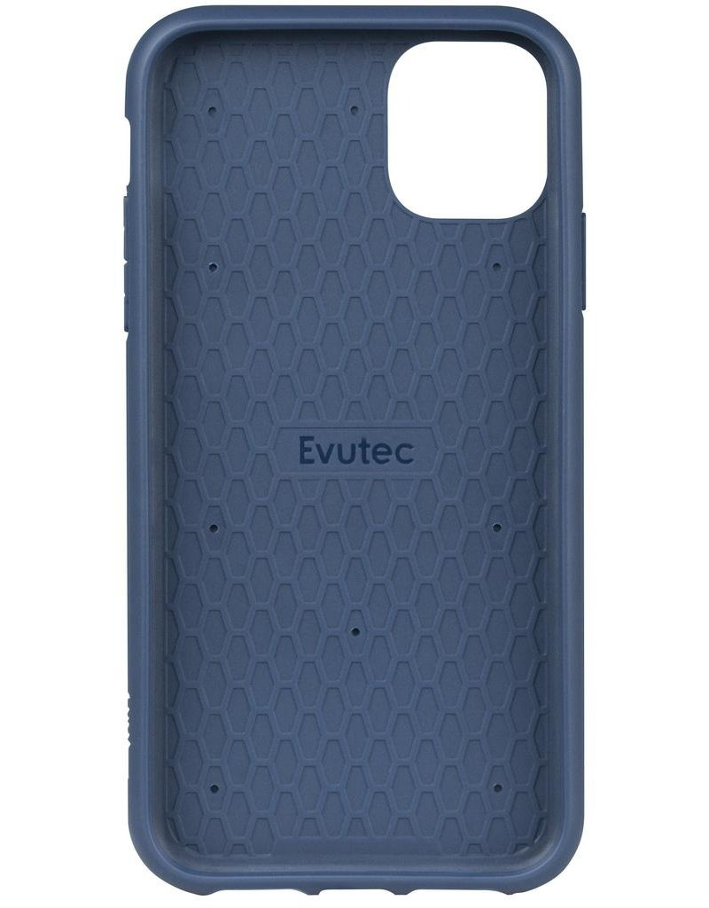 Evutec Evutec Ballistic Nylon Aergo Series Case With Afix for iPhone 11 Pro - Blue