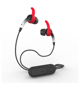 iFrogz iFrogz Sound Hub Plugz In Ear Bluetooth Headphones - Gray and Red