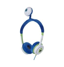 iFrogz iFrogz Little Rockers Costume Headphone For Kids - Blue Monster