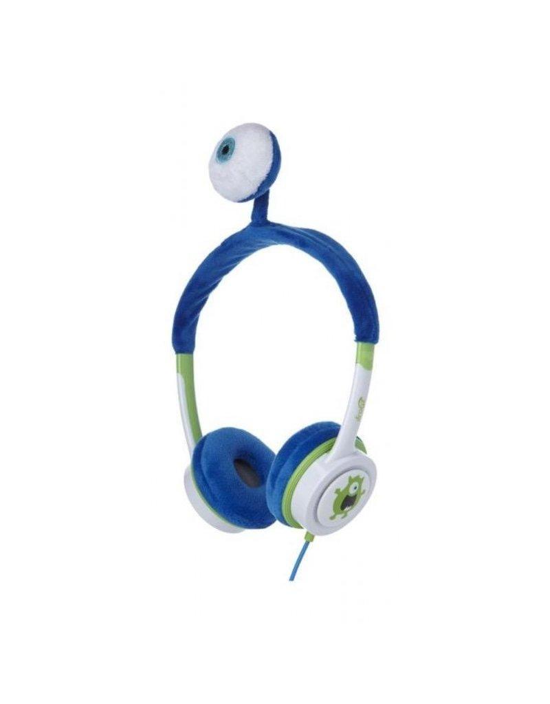 iFrogz iFrogz Little Rockers Costume Headphone For Kids - Blue Monster