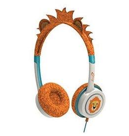 iFrogz iFrogz Little Rockers Costume Headphone For Kids - Orange Lion