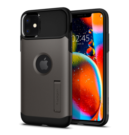 Spigen Spigen Slim Armor Case for Apple iPhone 11 Pro - Gunmetal