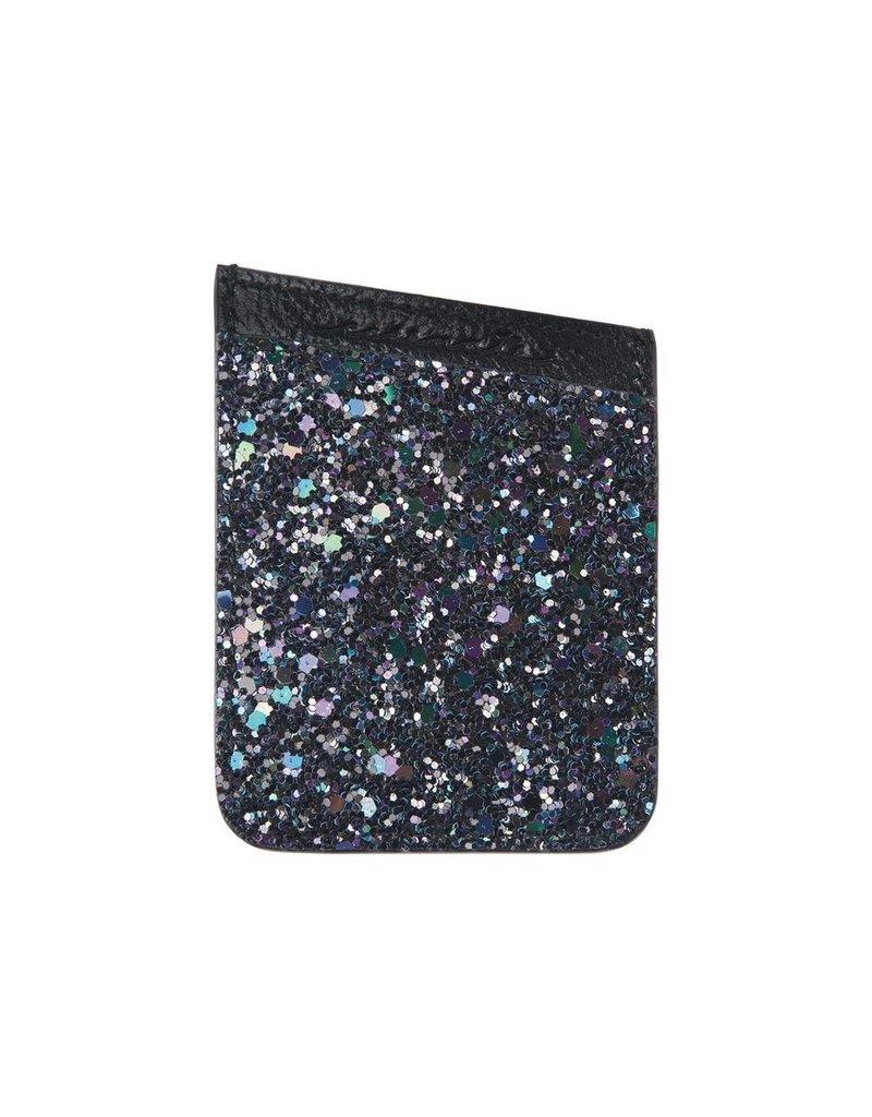 Case Mate Case Mate Pockets Card Holder - Black Iridescent Glitter