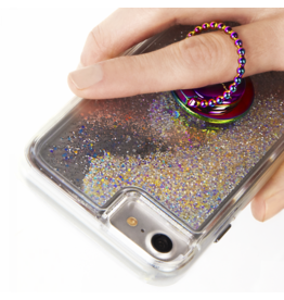 Case Mate Case Mate Ring Stand and Grip - Dotted Iridescent