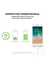 Belkin Belkin Boost Up Charge Apple Lightning to USB Type C Cable 4ft/1.2m- Black