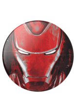 PopSockets PopSockets PopGrips Licensed Swappable Device Stand and Grip - Iron Man Portrait Gloss