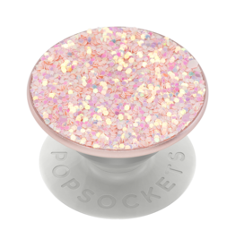 PopSockets PopSockets PopGrips Premium Swappable Device Stand and Grip - Sparkle Rose
