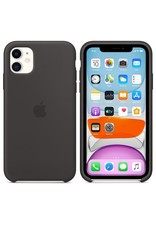 Apple Apple iPhone 11 Silicone Case - Black