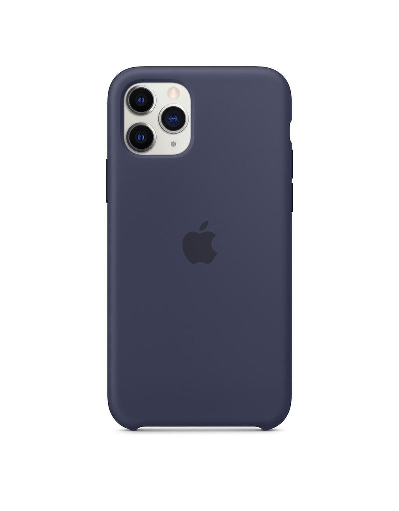 Apple Apple iPhone 11 Pro Silicone Case - Midnight Blue