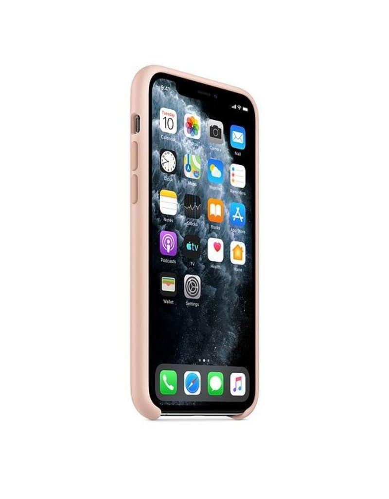 Apple Apple iPhone 11 Pro Silicone Case - Pink Sanad