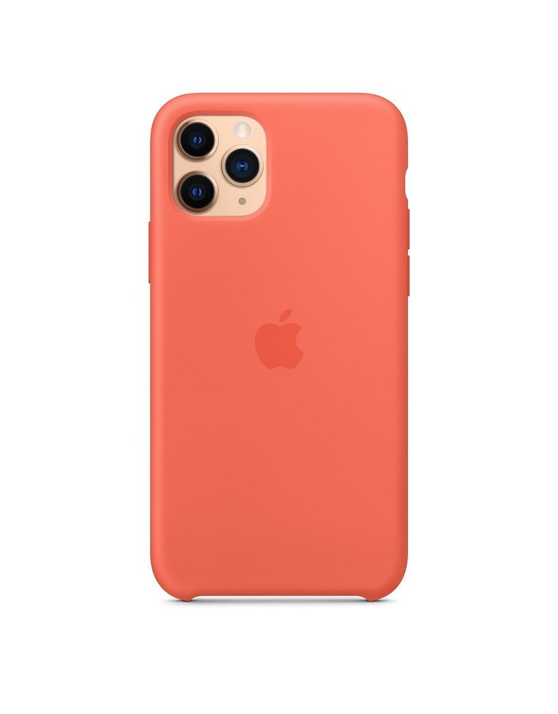 Apple Apple iPhone 11 Pro Silicone Case - Clementine (Orange)