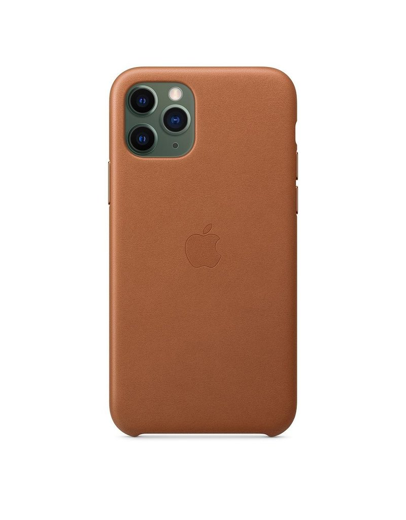 Apple Apple iPhone 11 Pro Leather Case - Saadle Brown