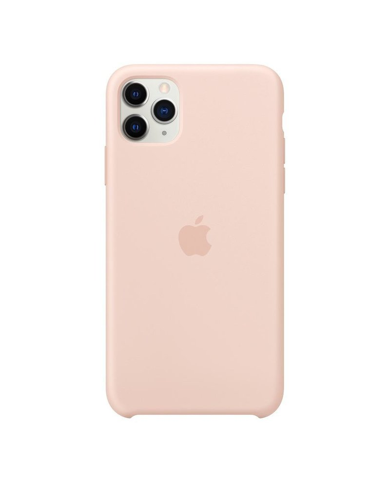 Apple Apple iPhone 11 Pro Max Silicone Case - Pink Sanad